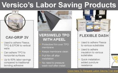 Learn About Versico Labor-Saving Products